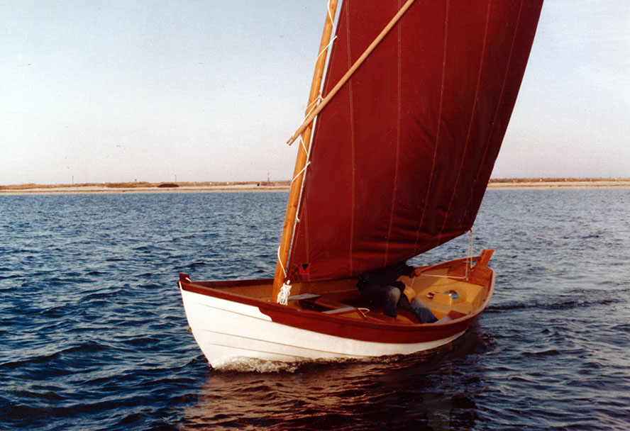 boat bottom built designed dory